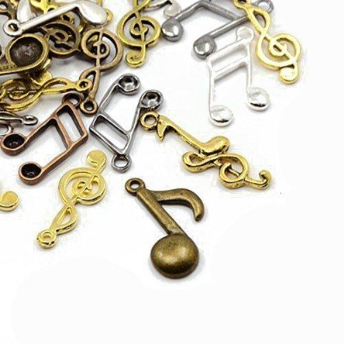 Paket-30-Gramm-Gemischt-Tibetanische-Zufllige-Mischung-Charms-Musik-Note-HA07325-Charming-Beads