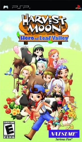 Harvest Moon: Hero of Leaf Valley (Psp Harvest)