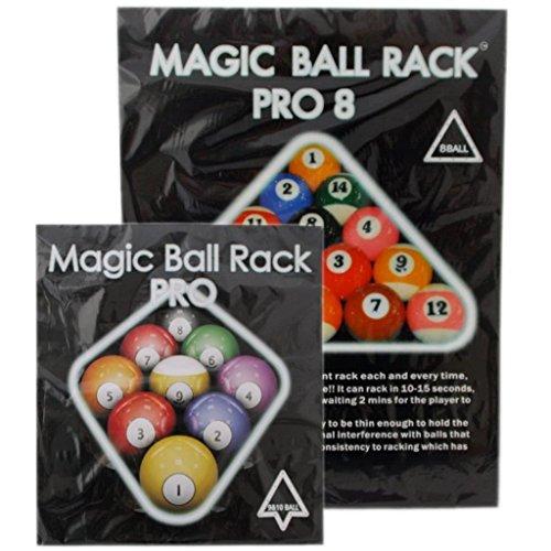 Preisvergleich Produktbild Magic Ball Rack Pro 8,  9- & 10-Ball Aufbauschablonenset 3er Set