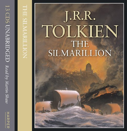 The Silmarillion Gift Set: Written by J. R. R. Tolkien, 2002 Edition, (Unabridged edition) Publisher: HarperCollins [Audio CD]