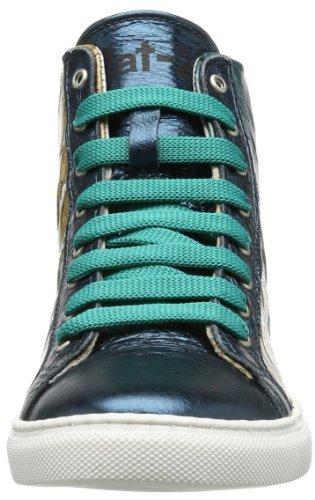 Nat-2 Corkster, Hi-Top Slippers femme Turquoise - Türkis (aqua)