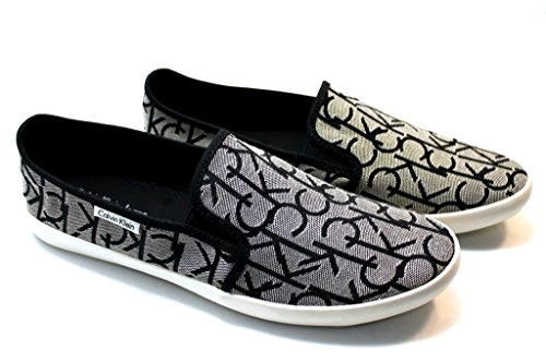 Calvin Klein Jeans Fabion, Herren Sneaker Nero Granite