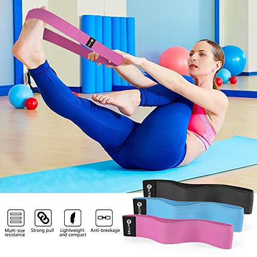 Resistance-Loop-Bands-Set-Waitiee-Yoga-Bands-Stretch-Set-Hip-Bands-Set-of-3-Exercise-Bands-Low-Medium-Heavy-Loop-Set-Great-for-Improving-Mobility-and-Strength-Yoga-Pilates-or-Injury-Rehabilitation-Mul