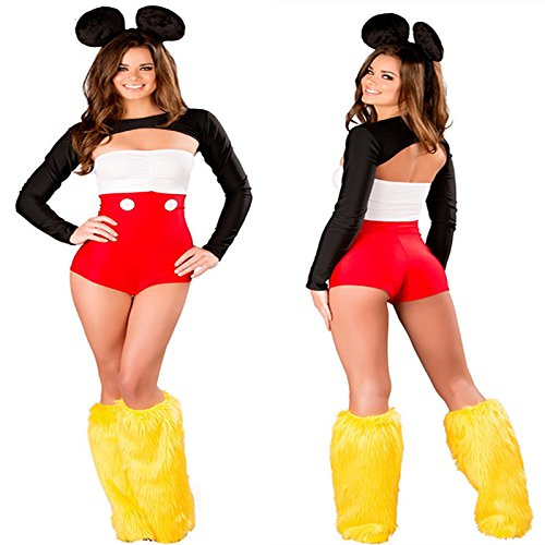 Mickey Pirate Kostüm - Gorgeous Disney Halloween-Kostüme Langarm- Trikot Mickey RPG