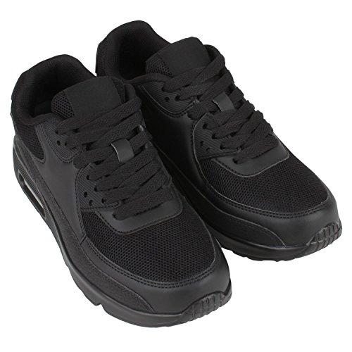 Japado–Chaussures de gymnastique basses femme Noir - Noir