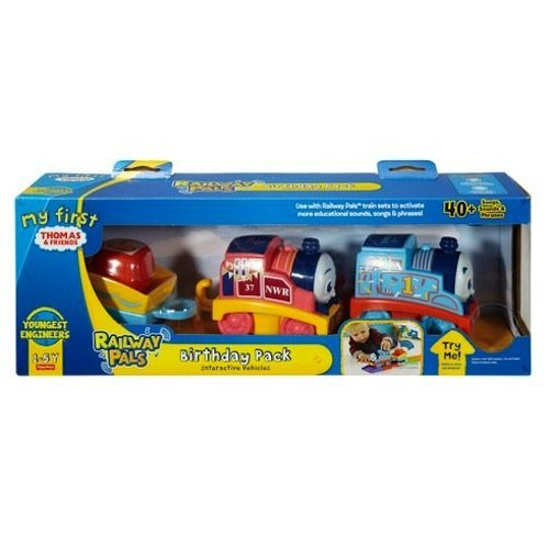 Thomas & Friends - My First Thomas - Railway Pals - Birthday Pack Interactive Vehicles