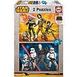 Puzzles Educa - Star Wars Rebels, 2 x 48 piezas (16168)