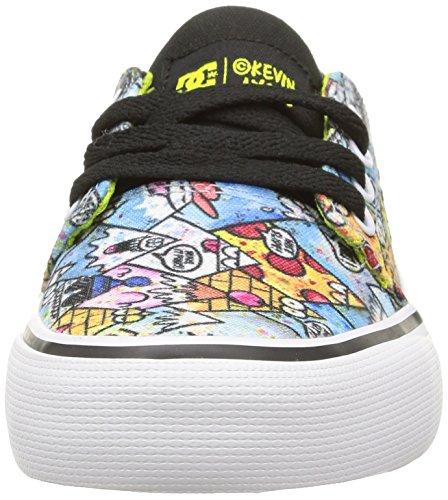 DC Shoes Trase Kl, Chaussures Premiers pas garçon Multicolore (Black/Print)