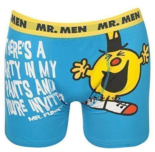 Herren Lizenz Boxershorts Batman Superman Rocky Balboa Mr Men Mr Funny