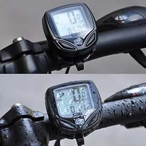 New Sunding Sd-548c Multifunction Wireless Bicycle Stopwatch Odometer Speedometer Bike Cyclometers Waterproof Cycle Computer Cycle Gear, V?lo, Bicyclette