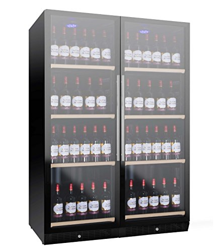 Nevada Cantina vino NW280D-FG con porte full glass da 119cm