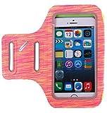 Wasserfeste Handy Sportarmband iPhone - Handy Armtasche - Oberarmtasche - Schlüsselhalter - Verlängerungsband - sportarmband Hülle für iPhone X/8/7/6/6s, Samsung Galaxy S, bis zu 5,5 Zoll