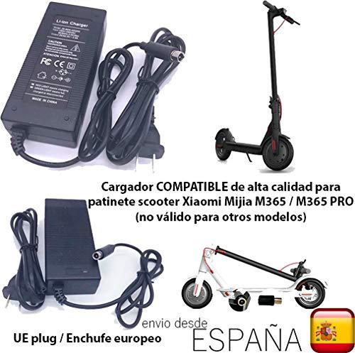 androgeek Cargador de batería Compatible con Enchufe UE ...