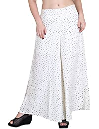 Hipe Indian Ethnic Designer Printed Casual Wear Palazzo Pant For Women's - B0759C7MGR