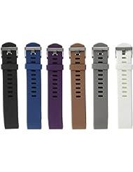 Hanlesi Armband für Fitbit Charge 2 , TPU Silikon Einstellbare Ersatz Sport Band für Fitbit Charge 2 HR+ Smartwatch Fitness Band