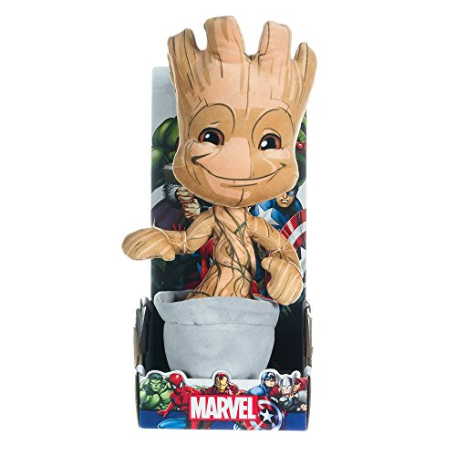Marvel Guardians Of The Galaxy Plüschfigur, 25,4 cm Baby-Groot, weiches Spielzeug