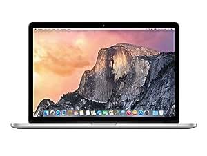 Apple Macbook Pro MGXA2D/A 39,1 cm (15,4 Zoll) Notebook (Intel Core-i7 4770HQ, 2,2GHz, 16GB RAM, 256GB SSD, Mac OS) silber
