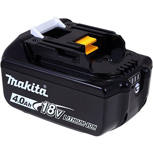 Original Akku für Makita Typ BL1815 4000mAh Original, Li-Ion, 18V (Akkus Makita Bl1815 18 Volt)