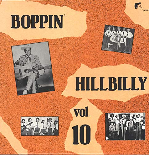 Boppin' Hillbilly Vol. 10 Sampler (Verschiedene Interpreten) [Vinyl LP] Cutter Rocker