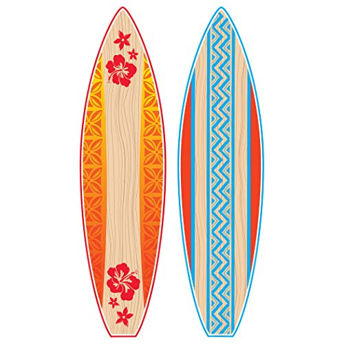 Teacher Created Resources Giant Surfboards Bulletin Board (5090) by Teacher Created Resources