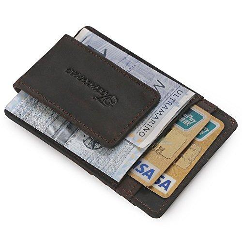 teemzone-rfid-fraude-proteccion-magnetica-clip-de-dinero-cartera-de-hombre-piel-cafe