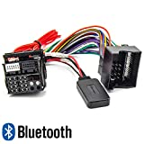 WATERMARK Vertriebs GmbH & Co. KG Bluetooth Adapter für Ford Focus Fiesta Fusion Kuga S-Max CD 6000 Sony Radio MP3 Musik Streaming
