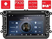 M.I.C. AV8V6-lite Android 10 Autoradio Radio Navigationssystem:DAB+ digitalradio Bluetooth 5.0 WLAN 8 Zoll IPS