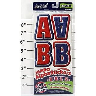 ArtSkills Jumbo AlphaStickers - Varsity, 105 Count by ArtSkills