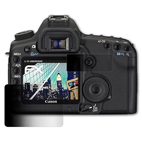 atFoliX Blickschutzfilter für Canon EOS 5D Mark II Blickschutzfolie - 1er Set FX-Undercover 4-Wege Sichtschutz Displayschutzfolie