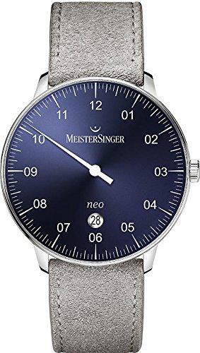 MeisterSinger Neo NE408 Reloj automático con sólo una aguja Clásico & sencillo