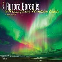Aurora Borealis: The Magnificent Northern Lights - Nordlicht 2018 - 18-Monatskalender: Original BrownTrout-Kalender [Mehrsprachig] [Kalender] (Wall-Kalender)