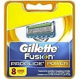 Gillette - Fusion ProGlide Power - Lames de Rasoir pour Homme 8 Recharges - Déballer sans s'énerver