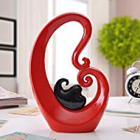 Amazon It Rosso Soprammobili Accessori Decorativi Casa E Cucina