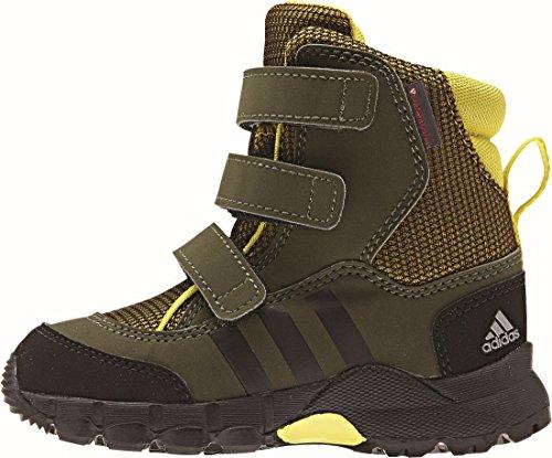 CW hOLTANNA cF i chaussures de ski pour enfant - raw ochre/core black/night cargo