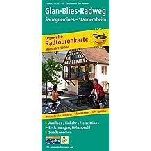 Glan-Blies-Radweg, Sarreguemines - Staudernheim: Leporello Radtourenkarte mit Ausflugszielen, Einkehr- & Freizeittipps, Entfernungen, Höhenprofil, ... 1:50000 (Leporello Radtourenkarte / LEP-RK)