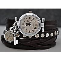 --Echte Pusteblumen Armbanduhr --