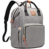 HaloVa Diaper Bag Multi-Functional Portable Travel Backpack Nappy Bags for Baby Care, Water-Resistant