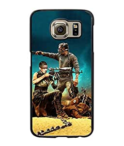 SAMSUNG S6 EDGE Printed Cover By aadia