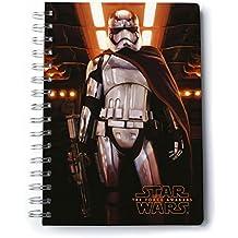 """Cuaderno de notas DIN A5 Star Wars: Epidodio VII - The Force Awakens/El Despertar de la Fuerza """"Capitán Phasma"""""""