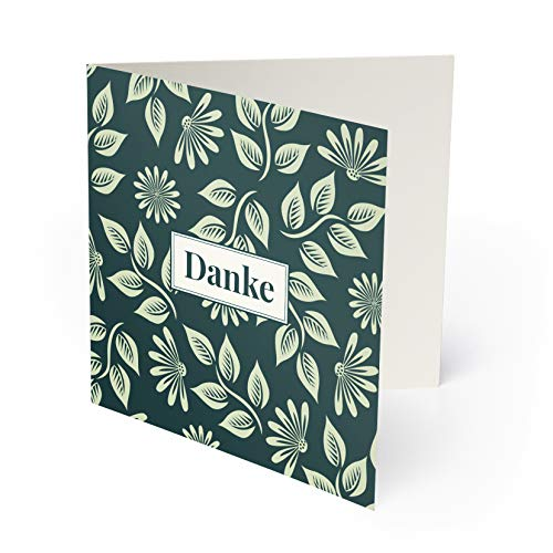 (60 x) Hochzeit Dankeskarten Danksagungskarten Danke Karten Dankeschön - Blumen