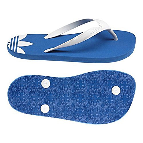 Adidas Adiflip Kinder V24238 Zehentrenner Badelatschen color: Blue / White GR: 4 UK
