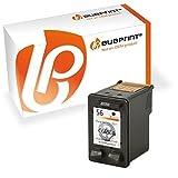 Bubprint Druckerpatrone kompatibel für HP 56 für Deskjet 5150 5550 5650 Officejet 4215 5510 Photosmart 7260 7660 7760 7960 PSC 1210 1215 1315 Schwarz