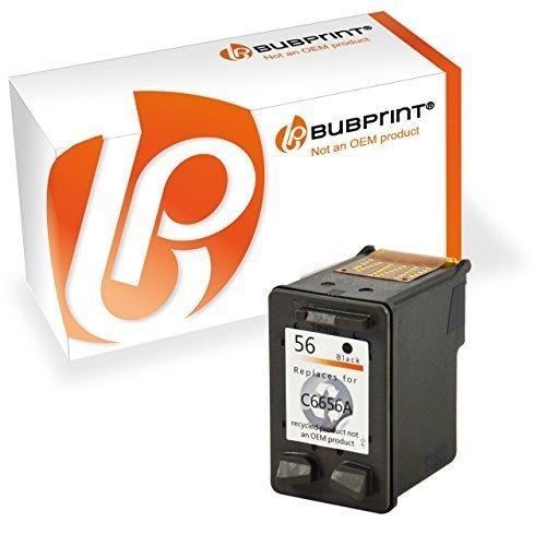 Bubprint Druckerpatrone kompatibel für HP 56 für Deskjet 5150 5550 5650 Officejet 4215 5510 Photosmart 7260 7660 7760 7960 PSC 1210 1215 1315 Schwarz (7760 Patrone)