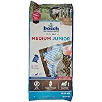 bosch Hundefutter Medium Junior, 1er Pack (1 x 15 kg)