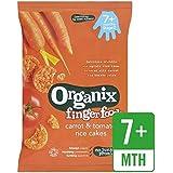 Organix Carottes Et Tomates Gâteaux De Riz 50G - Paquet de 2
