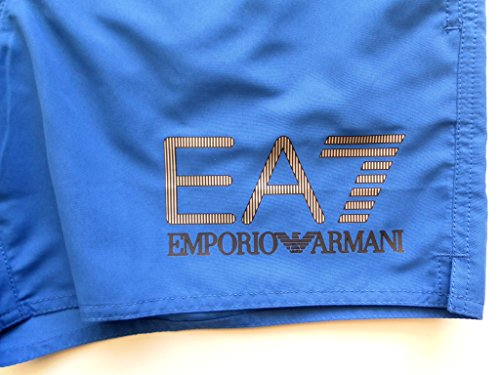 Ea7 Swimwear Seaworld Visibility Swim Shorts SMALL ROYAL BLUE