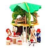 #8: Jack Royal Adventurous Tree Building Blocks With Characters Wooden toy