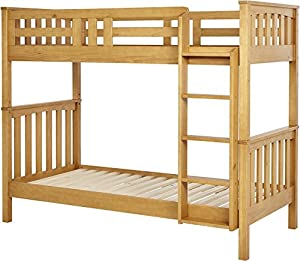 Tesco NEW Harvey Solid Pine Bunk Bed (Oak Effect)