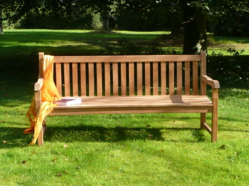 Humber Imports Grade A Teak Classic 1.8m Windsor Park Bench
