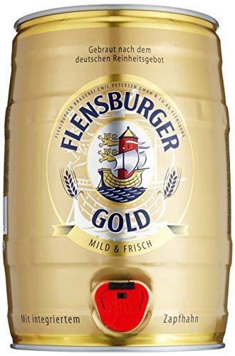 flensburger bier Flensburger Gold Partyfass Pils (1 x 5 l)